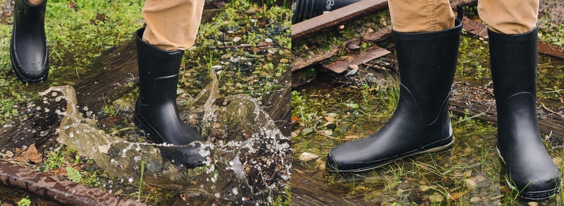 Men's Rubber Rain Boots