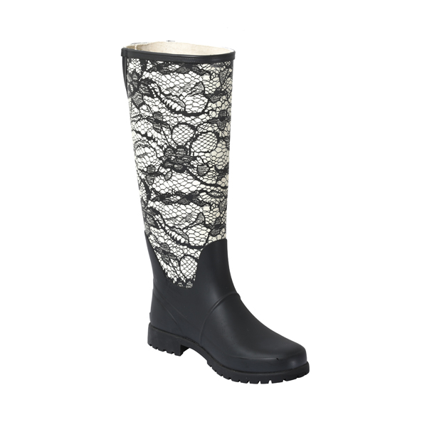 Printed Welly Boot For Women