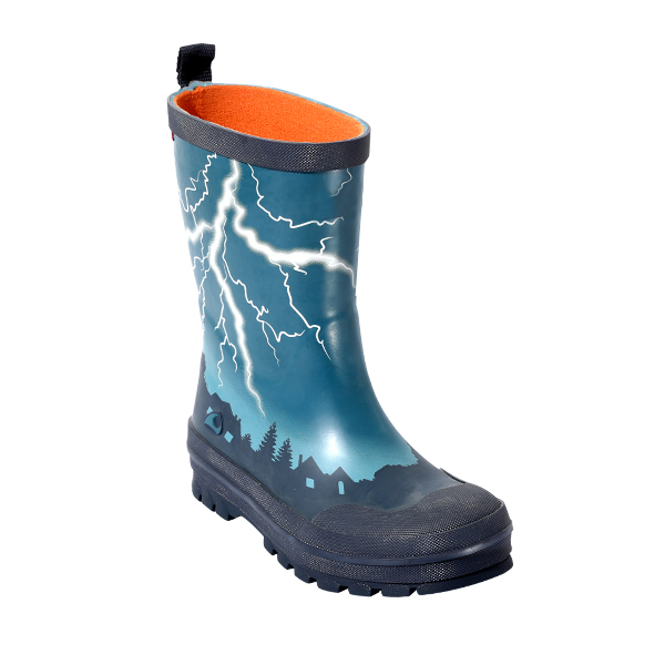 Boy's Welly With Print