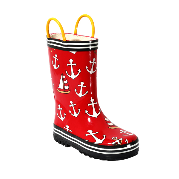 Rubber Boots With Print For Children