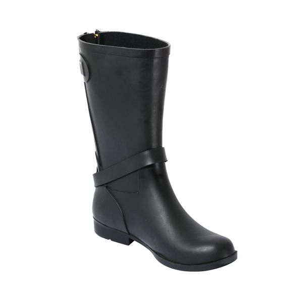 Women's Refined Rain Boots With Zippers