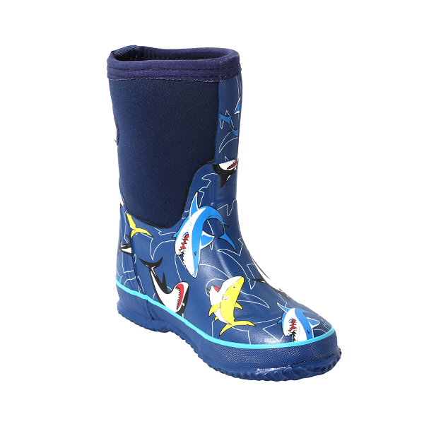 Boy's Printed Neoprene Boots