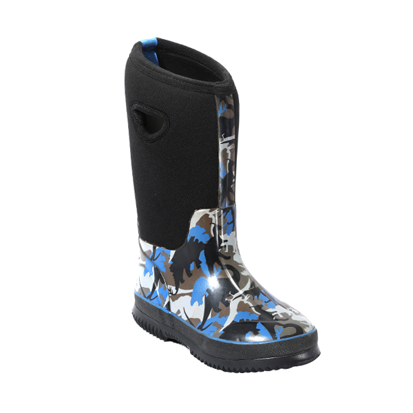 Neoprene Rubber Rainboots For Boys