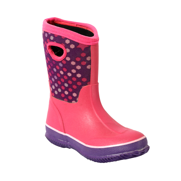 Girl's Neoprene Rubber Boots