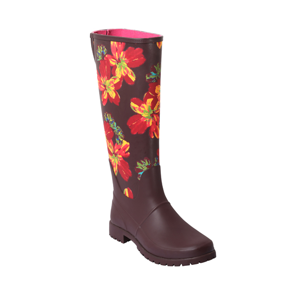 Printed Wellington Boot For Women