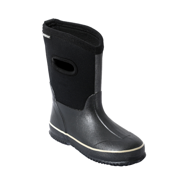 Boy's Solid Neoprene Rainboots