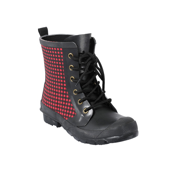 Printed Rubber Welly Boots For Women