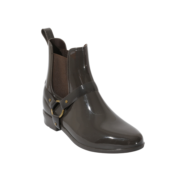 PVC Chelsea Boots For Women