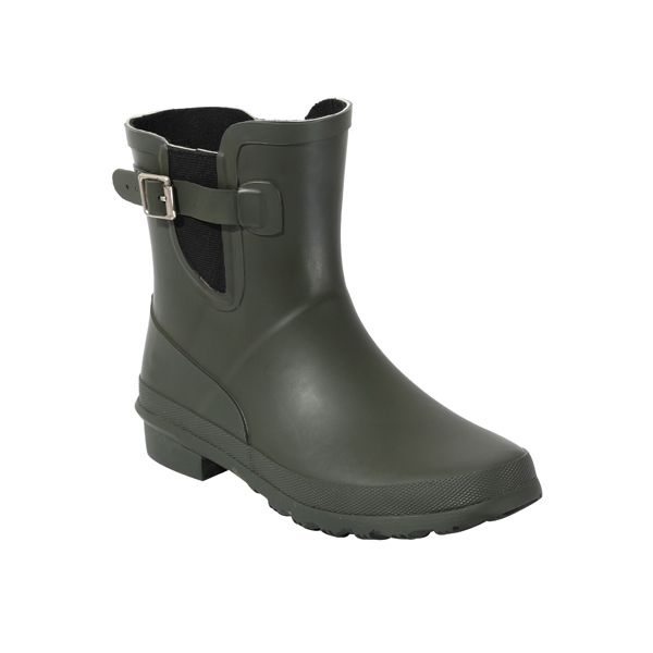 Women's Fashion Welly Boots With Ajustable Buckles