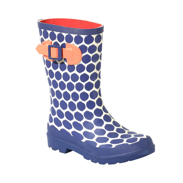 Girls's Printed Welly Boot