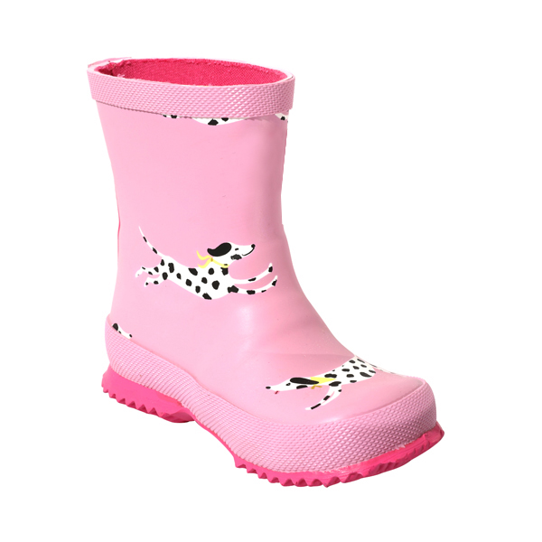 Printed Rubber Rainboot For Baby