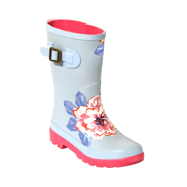 High Quality Girl's Rain Shoes With Print