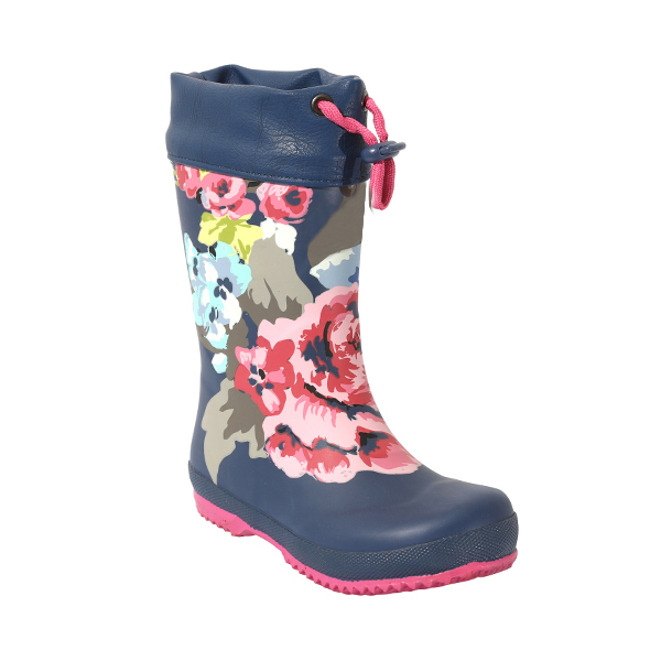 Warm Rubber Boot For Girls