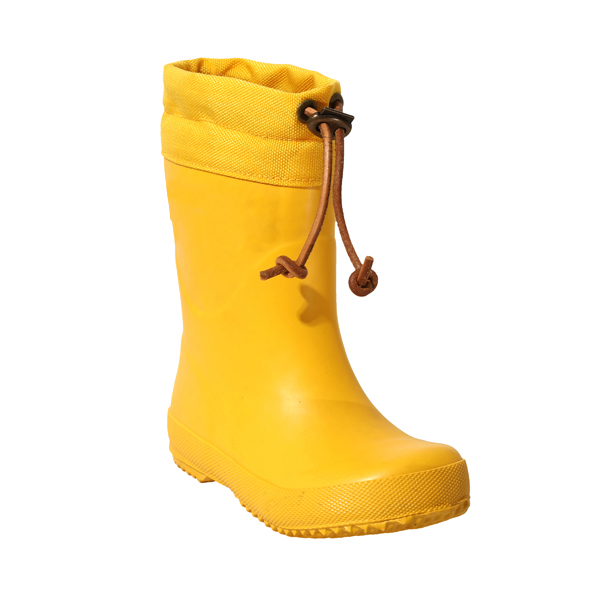 Rubber Rainboot With Adjustable Collar