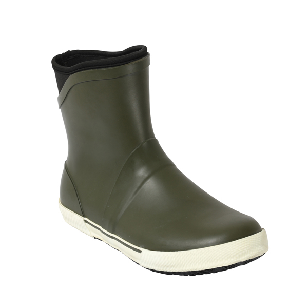 Men's Short Rain Shoes In Neoprene