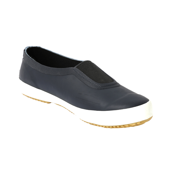 Men's Rubber Rain Shoes With Elastics