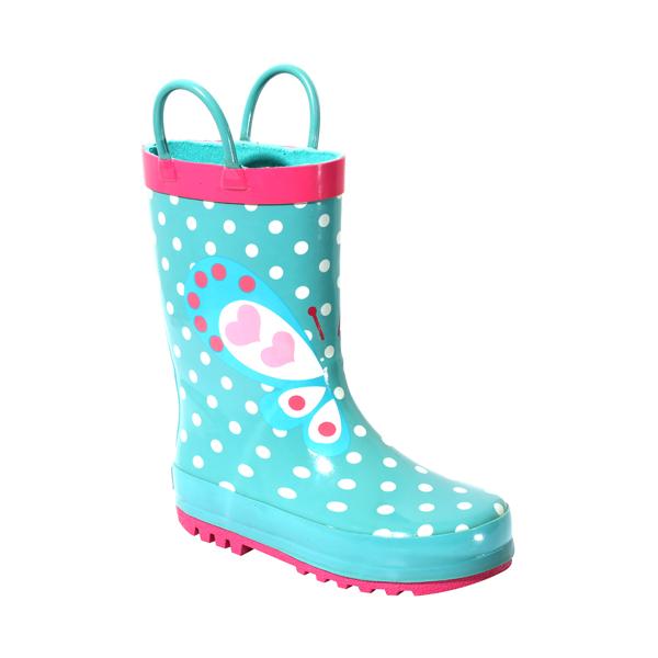 Children's Butterfly Rainboot