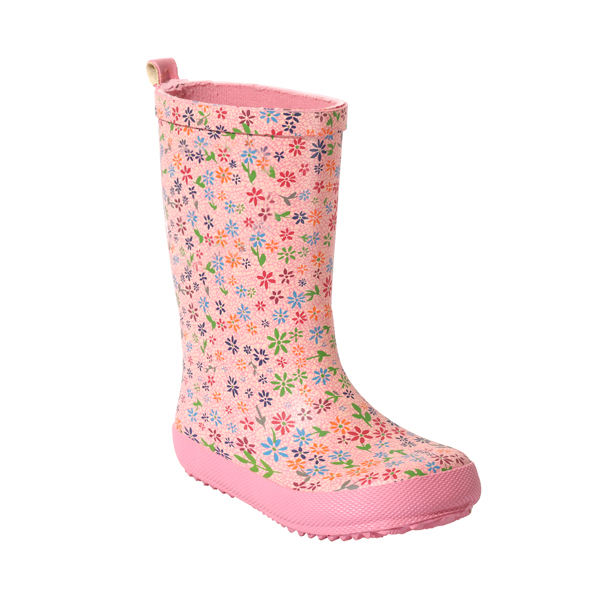 Junior Girl's Printed Rubber Wellies