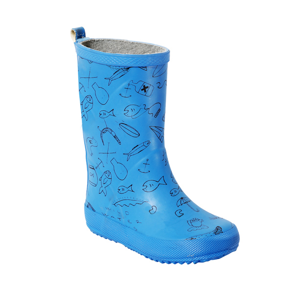 Boy's Rubber Rainboot in print