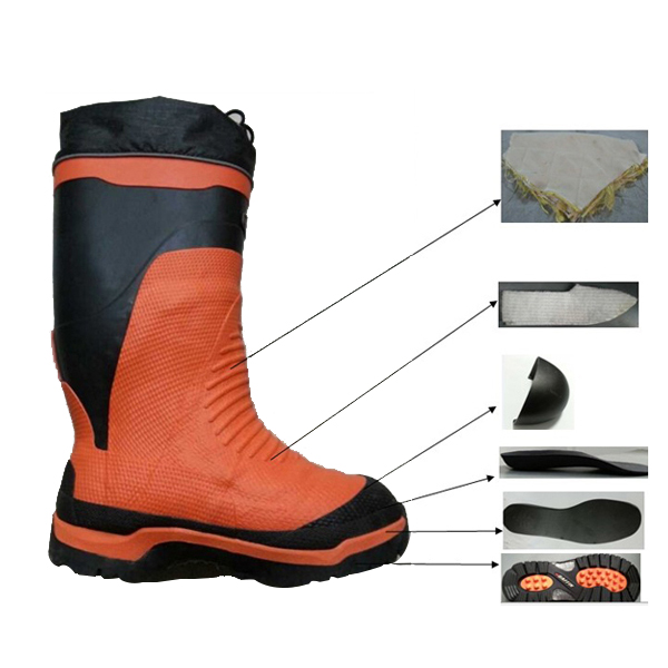 Logging Worker Rubber Boots For Men